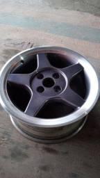 Rodas 15 reformadas pneus bons