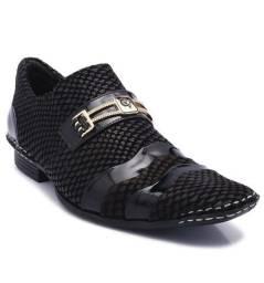 Sapato Calvest Couro verniz