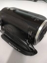 Filmadora Digital HD Sony HDR-PJ230 8.9MP 32x Zoom Óptico Projetor Integrado