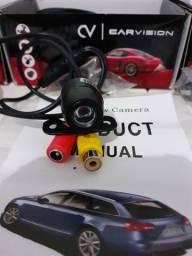 cameras de ré infravermelho impermeavel noturna diurno completas com cabos e manual