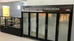 Geladeira 5 portas black frios e lacticínios pronta entrega- felário