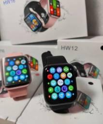smartwatch hw12 novo na caixa