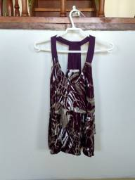 Vestido estampado da Chifon (tamanho P)