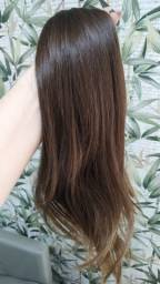 Mega Hair Cabelo Natural Já Preparado