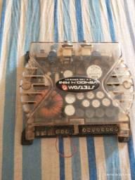 Vendo módulo amplificador estson 400rms 4 canais