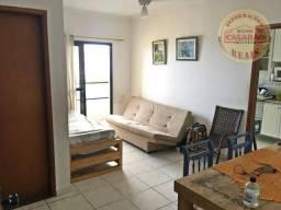 Apartamento com 1 dormitório à venda, 45 m² por R$ 240.000 - Tupi - Praia Grande/SP