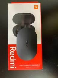 Fone Xiaomi Redmi AirDots 2 - Bluetooh 5.0, Preto, Pequeno