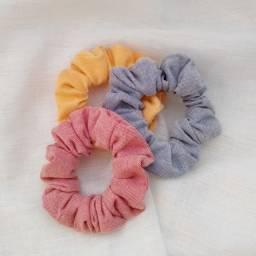 Scrunchies cores variadas