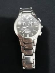 Relógio Technos cronometro em aço inox