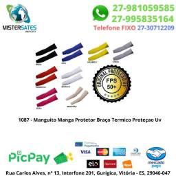1087 -Promoção - Manguito Manga Protetor Braço Termico Proteçao<br><br>