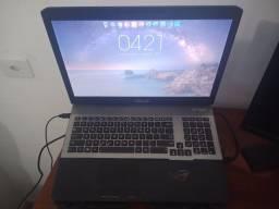 Notebook Asus GAMER i7 / 16GB de RAM / SSD 120GB + HD 500 GB / Placa de vídeo NVidia