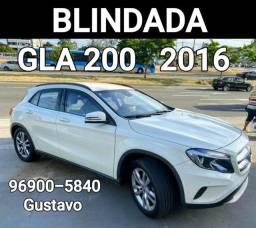 Gla 200 Único dono 2016 Blindada