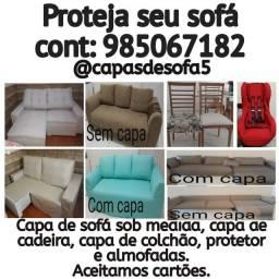 Proteja seu sofá