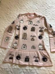 Vestido de Lã Infantil - TAM 10