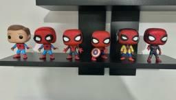 Kit Coleção Funko Pop Spider Man Homem Aranha - Marvel