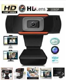 1080 P 2.0 Hd Webcam Pc Câmera Digital Usb Gravação De Vídeo C/ Microfone