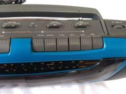 Rádio toca fitas Toshiba raridade