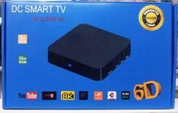 Smart TV box 4gb + 32gb 8k 6D