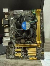 Placa mãe Asus HB1M-E   LGA1150  4 geração