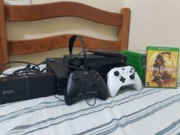 Xbox one fat completo, troco e celular, leia abaixo!