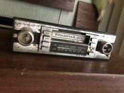 Rádio antigo Roadstar automotivo (leia o anúncio)