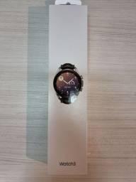 Smartwatch Samsung Galaxy Watch3 41mm LTE - Prata - NOVO - LACRADO