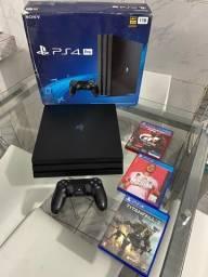 PS4 PRO 1TB Modelo 7215B último lançado na garantia (Agrestina/Caruaru)