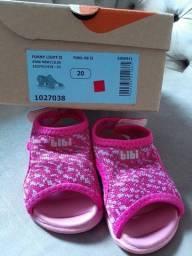 Sapato/sandália infantil menina número  20