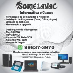 Computadores e video game