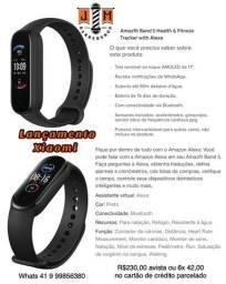 Xiaomi Amazfit Mi Band 5 Original acesso Alexa ORIGINAL