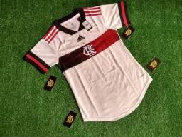 Flamengo feminina branca tamanho P e M disponível