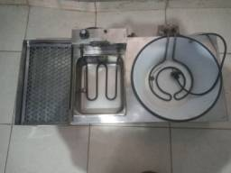 Fritadeira mais chapa  450