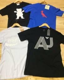Camiseta básica R$ 22,00 cada