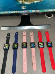 Smartwatch Original Hw22 - Preto, Vermelho, Rosê, Azul