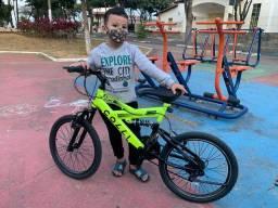 Bicicleta mountain bike aro 20
