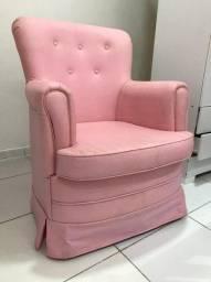 Poltrona de Amamentação + Puff Rosa!!!!!!!!