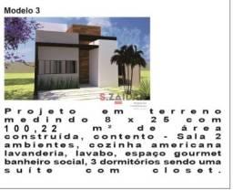 Casa com 3 dormitórios à venda, 100 m² por R$ 550.000 - Campestre - Piracicaba/SP