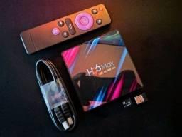 """""""Atacado/Varejo"""" Tv Box H96 MAX , A Pronta Entrega , Novo na Caixa."""