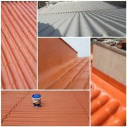 Resolvemos vazamentos em telhados em geral