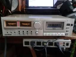 Tape Deck Cassete Automático Gradiente Cd-5500 Funcionando