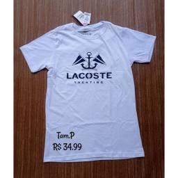 Camisa 100% Algodão Fio 30.1
