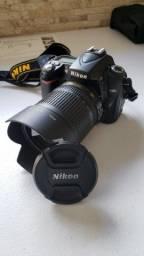 Câmera Nikon D90 (Semi-Nova)