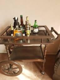 Suporte de bebidas antigo