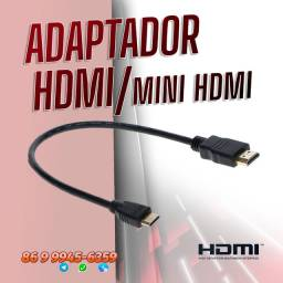 Cabo Adaptador Mini para HDMI Full