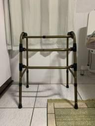 Andador Adulto Articulado Dobrável 3 barras em alumínio Bronze