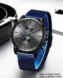 Relógio Masculino Original Lige Todo Funcional