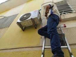 Instalação e manutenção em centrais de ar e ar condicionado