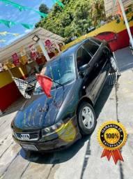 Audi A3 1.8 R$ 1,500,00 Abaixo da Fipe Aspirado Completo + Couro Roda e GNV - 2002
