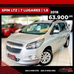 Título do anúncio: Spin LTZ 1.8 - 2018 (Paraiba Auto)