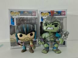 Kit Coleção Thor Ragnarok e Hulk
